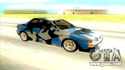 Subaru Impreza 22B STi for GTA San Andreas