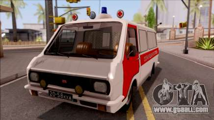RAF 22031 Ambulance of Pripyat for GTA San Andreas
