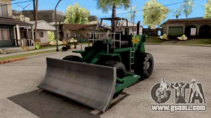 Paintable Dozer for GTA San Andreas