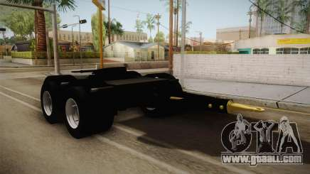 Double Trailer Livestock v2 for GTA San Andreas