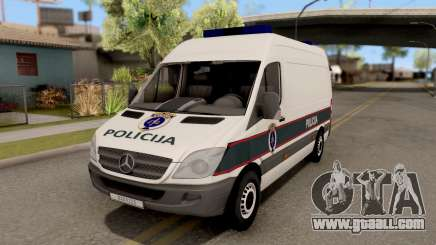 Mercedes-Benz Sprinter BIH Police Van for GTA San Andreas