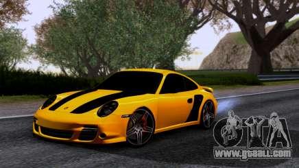 Porsche 911 Turbo 2007 for GTA San Andreas