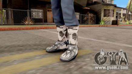 "Boots ""Winter Camo"" for GTA San Andreas"