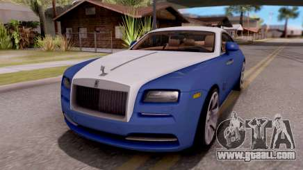Rolls-Royce Wraith v2 for GTA San Andreas