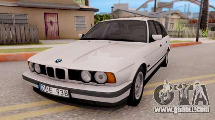 BMW 5-er E34 Touring Stock for GTA San Andreas