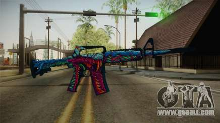 CS:GO - M4A1-S Hyper Beast No Silencer for GTA San Andreas