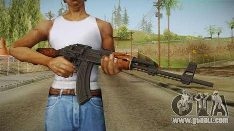 COD Advanced Warfare AK47 for GTA San Andreas third screenshot