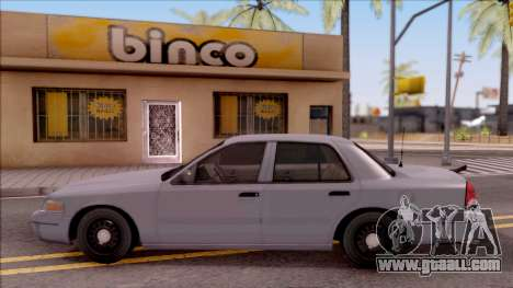 Ford Crown Victoria 2003 for GTA San Andreas left view