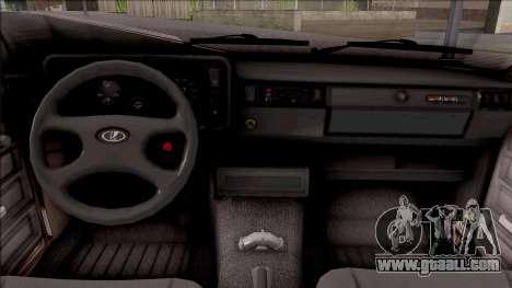 VAZ 2105 BK for GTA San Andreas inner view