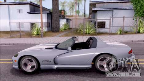 Dodge Viper RT/10 for GTA San Andreas left view