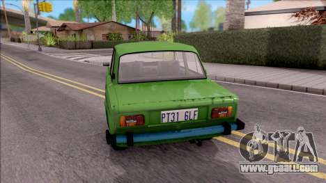 VAZ 2106 GTA Style for GTA San Andreas back left view