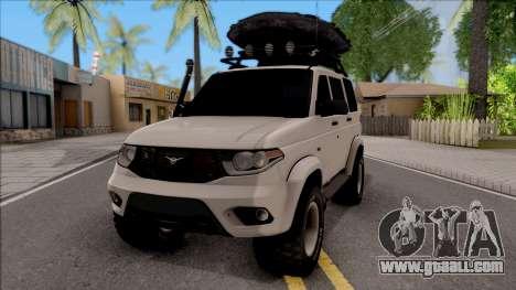УАЗ Patriot Off-Road for GTA San Andreas