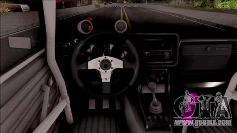 VAZ-2107 Combat Classic for GTA San Andreas inner view