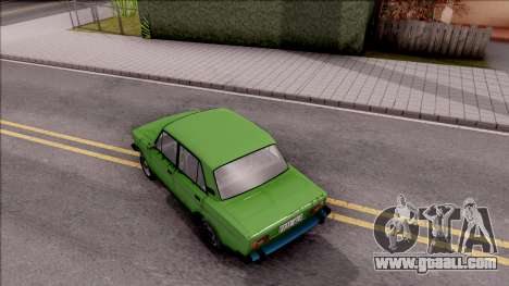 VAZ 2106 GTA Style for GTA San Andreas back view