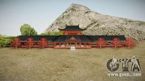 Way of Samurai 4 Wind Palace for GTA San Andreas second screenshot