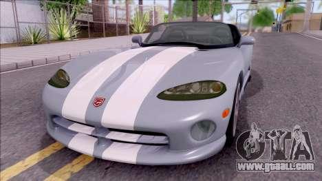 Dodge Viper RT/10 for GTA San Andreas