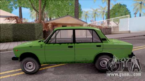 VAZ 2106 GTA Style for GTA San Andreas left view