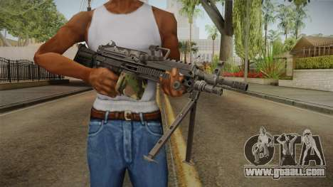 M249 Light Machine Gun for GTA San Andreas third screenshot
