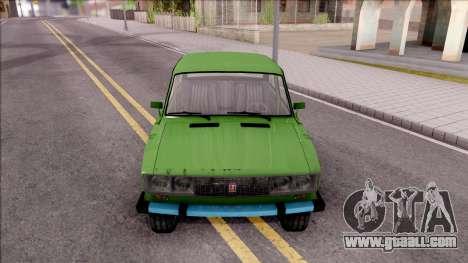 VAZ 2106 GTA Style for GTA San Andreas inner view