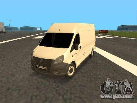 GAZelle Next all-metal van for GTA San Andreas