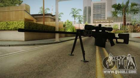 Marine Corp Sniper Rifle China Wind for GTA San Andreas second screenshot