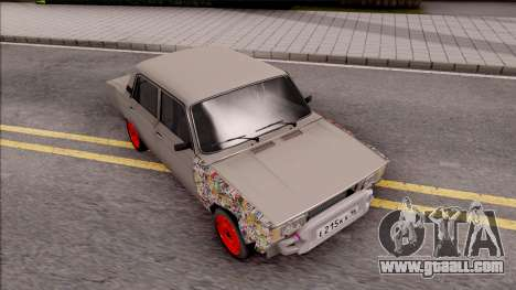 VAZ 2105 BK for GTA San Andreas right view