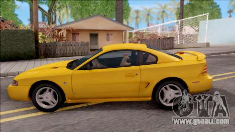 Ford Mustang GT 1993 for GTA San Andreas left view