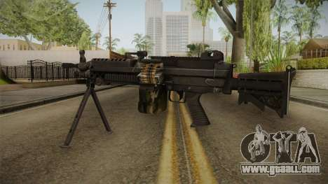 M249 Light Machine Gun for GTA San Andreas second screenshot