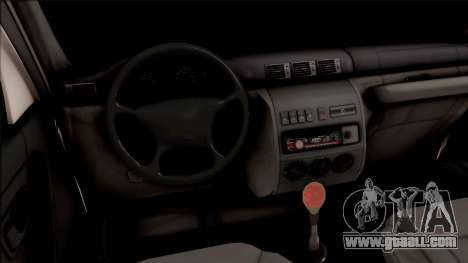 УАЗ Patriot Off-Road for GTA San Andreas inner view