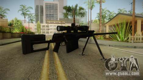 Marine Corp Sniper Rifle China Wind for GTA San Andreas third screenshot