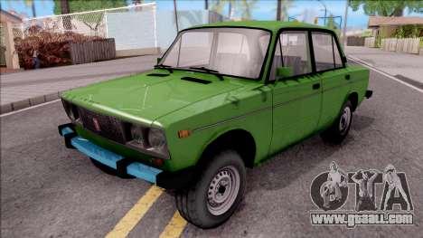 VAZ 2106 GTA Style for GTA San Andreas
