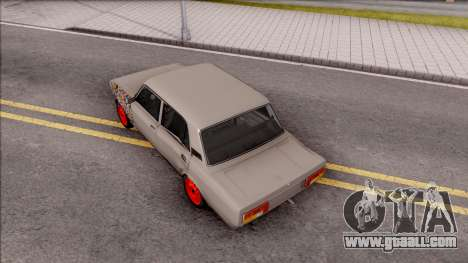 VAZ 2105 BK for GTA San Andreas back view