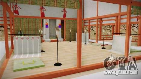 Way of Samurai 4 Wind Palace for GTA San Andreas forth screenshot