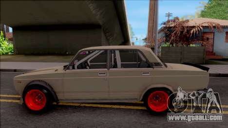 VAZ-2107 Combat Classic for GTA San Andreas left view