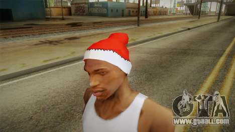 Red hat of Santa Claus for GTA San Andreas