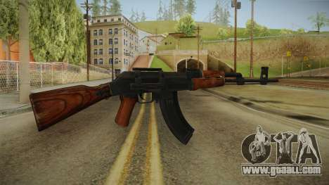 COD Advanced Warfare AK47 for GTA San Andreas second screenshot