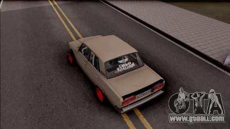 VAZ-2107 Combat Classic for GTA San Andreas back view