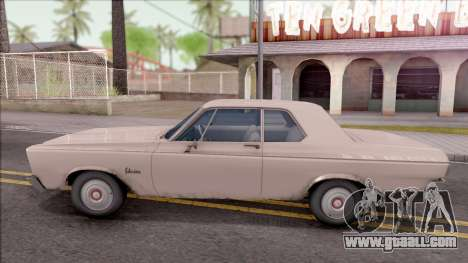 Plymouth Belvedere 1965 for GTA San Andreas left view