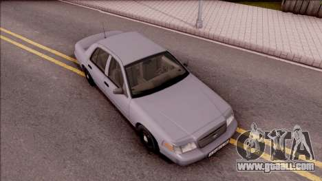 Ford Crown Victoria 2003 for GTA San Andreas right view