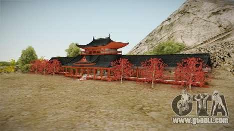 Way of Samurai 4 Wind Palace for GTA San Andreas third screenshot