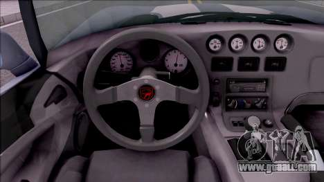 Dodge Viper RT/10 for GTA San Andreas inner view