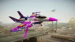 FNAF Air Force Hydra Ballora for GTA San Andreas