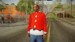 Red jacket, Santa Claus