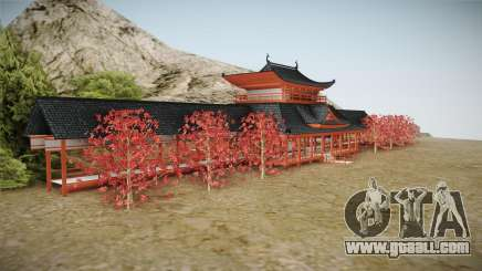 Way of Samurai 4 Wind Palace for GTA San Andreas