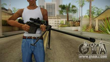 Marine Corp Sniper Rifle China Wind for GTA San Andreas