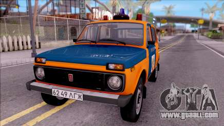 VAZ-2121 Niva Police of the USSR for GTA San Andreas