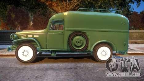 World War II Car for GTA 4