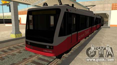 GTA V car Metro Train for GTA San Andreas