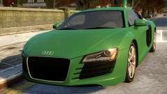 Audi R8 4.2FSI 2008 for GTA 4