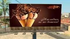 Creative advertising for GTA San Andreas